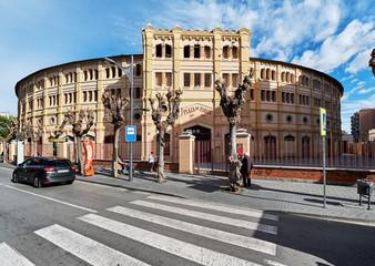 Exterior Plaza de Toros, Murcia, Spain