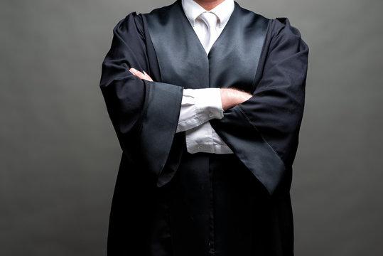 Rechtsanwalt mit Robe