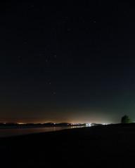 stars over the beach
