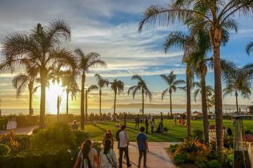 Sunset at Coronado Beach, San Diego, CA