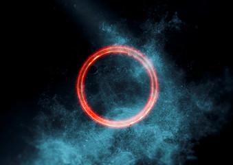 抽象的な輪