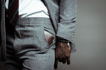 Wallet in a pocket