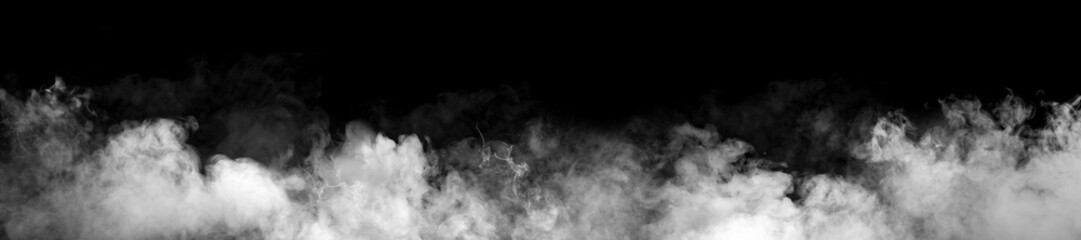 Photo sur Plexiglas Fumee White smoke