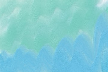 Abstract artistic green background, painting.