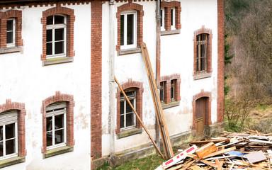 chantier Immeuble en restauration