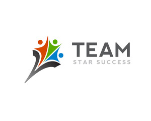 Team star logo design inspiration