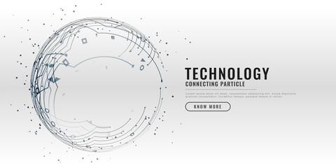 technology circuit diagram design background