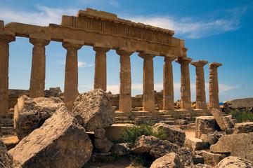 Printed roller blinds Ruins Parco e rovine archeologiche di Selinunte, Sicilia