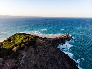 Looking East Byron bay