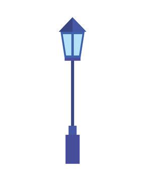 street lightpost lamp icon