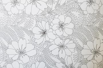 Arrière plan motif floral