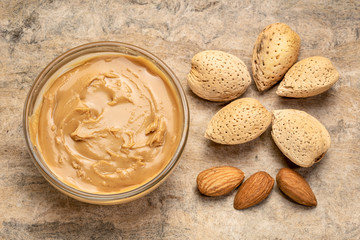 almond butter and nuts