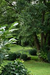 Aluminium Prints Garden jardin