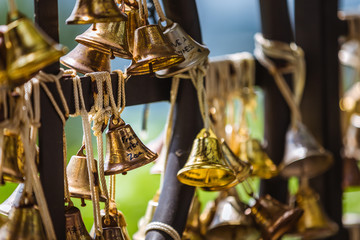 Small bells at the Mount Faber Station