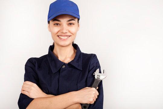 woman technician working