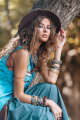 denim fashion woman