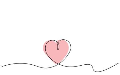 Hearts background, vector illustration