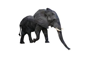 Polygon- Elephant