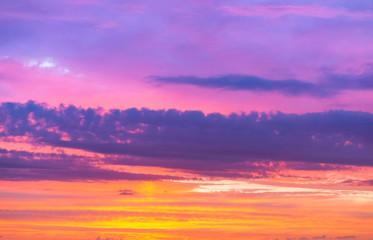 purple pink sky, purple sky at sunset