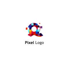 Pixel Logo Templates