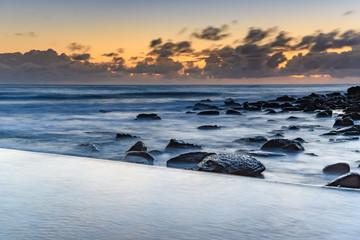 Dawn at the Ocean Pool