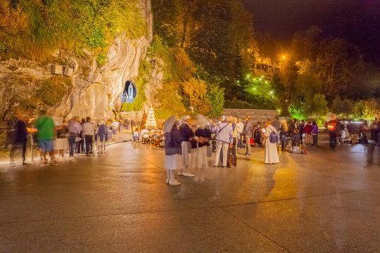 Grotte de Massabielle, Lourdes, France
