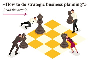 Isometric Strategic Business Planning