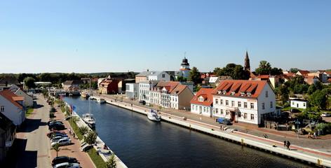 Seebad Ueckermünde, Stadthafen