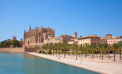 Poster Europese Plekken Palma de Mallorca
