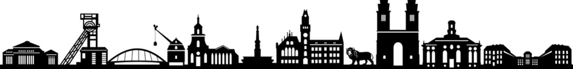 Saarbrücken Skyline City