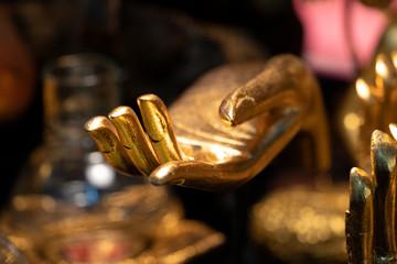 Buddah golden hand
