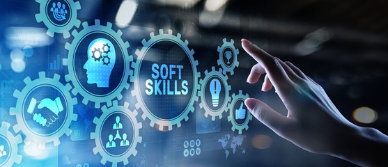 Soft skills and personal fitness responsibility HR human resources concept.