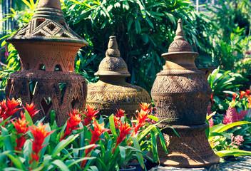 garden sculptures in Nong Gooch National Park