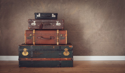 vintage travel themes background