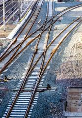 details of railway tracks