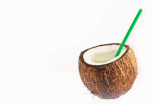 Coconut juice, coconut water drink - Cocos nucifera