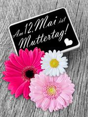 Muttertag Dekoration und Datum