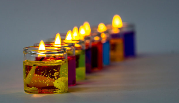 tiny candles