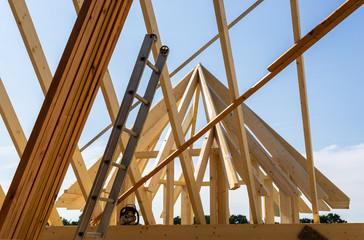 Architektur eines neuen Daches
