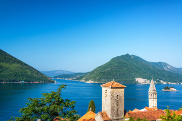 Perast, Montenegro and Beautiful Landscape