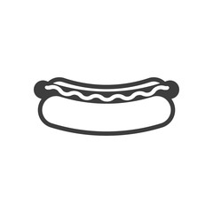 Hot Dog Cartoon Black And White Stock Photos And Royalty Free Images Vectors And Illustrations Adobe Stock