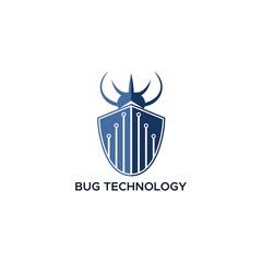 bug technology logo