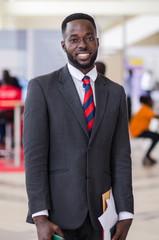 portrait of a businessman in suit