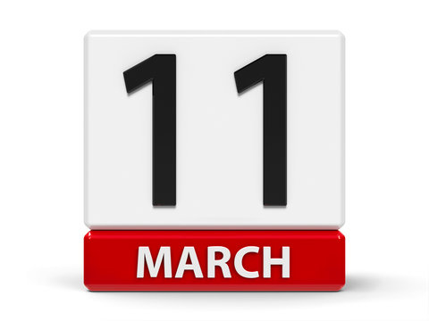 Cubes calendar 11th March