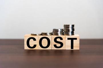 コスト 増加