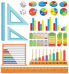 Set of math element