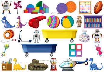 Set of kids toy