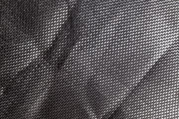 In de dag Stof texture sinewy porous plastic metal black dark macro