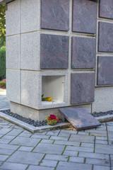 A stone columbarium