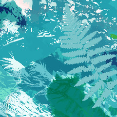 abstract fern background